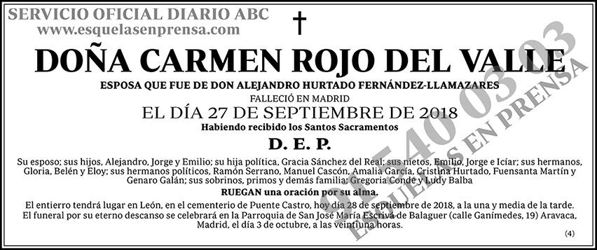 Carmen Rojo del Valle